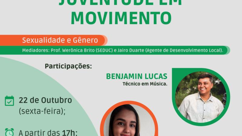 """PREFEITURA REALIZA SEGUNDA RODA DE CONVERSA """"JUVENTUDE EM MOVIMENTO"""""""
