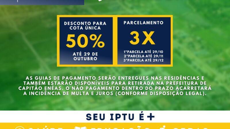 IPTU 2021 – CAPITÃO ENÉAS